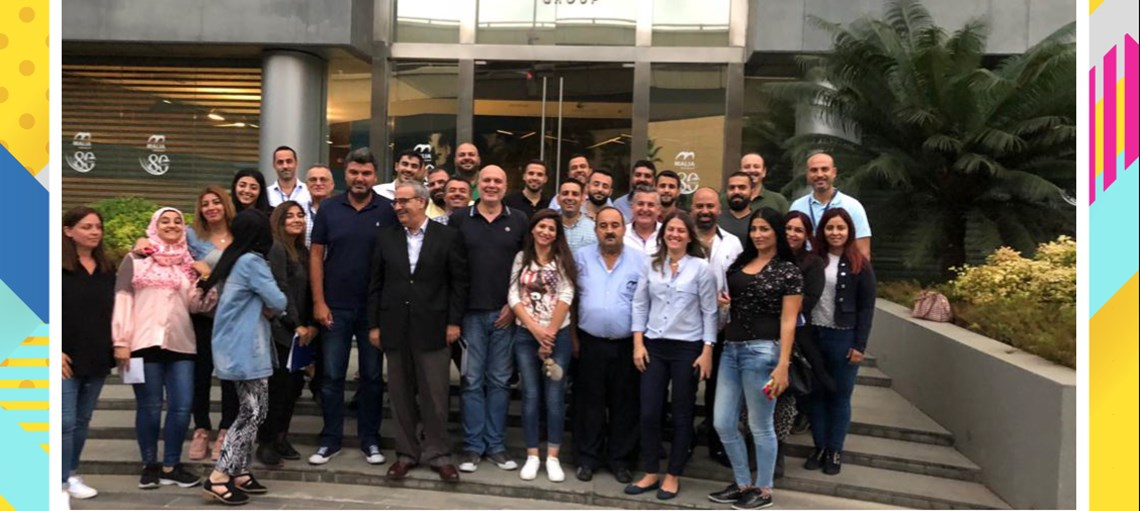 FINE LEBANON TEAM ATTENDS FINE ACADEMY TRAINING SESSIONS